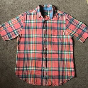 Woolrich - Madras Plaid Cotton Shirt